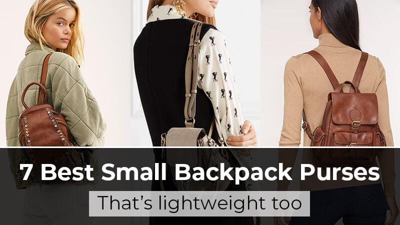 Mini backpack purses