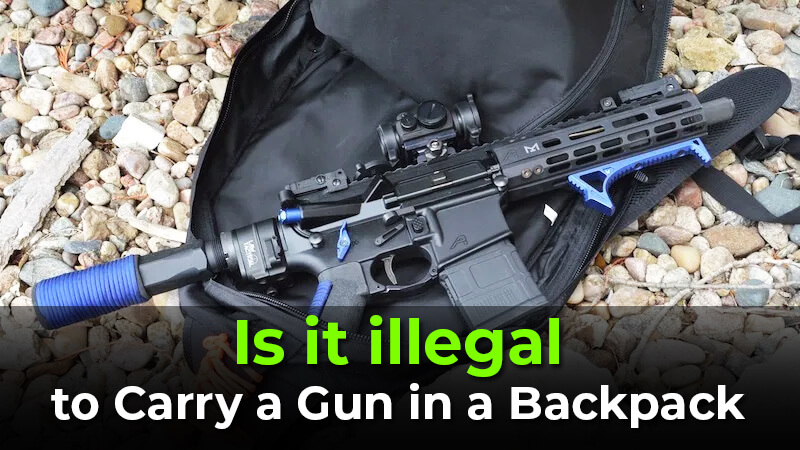 Carry a gun in a Backpack